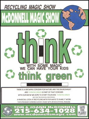 Recycling Magic Show